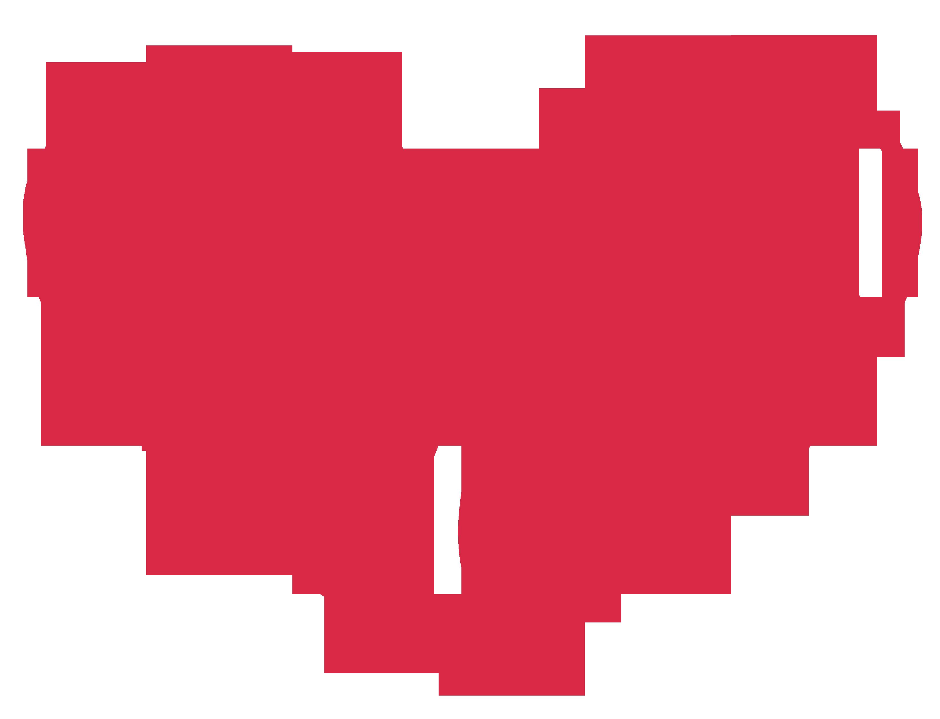 Heart-shaped clipart open heart #9