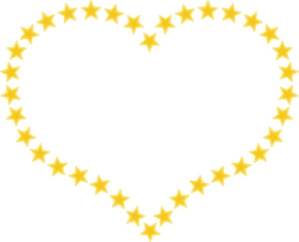 Heart-shaped clipart open heart #13