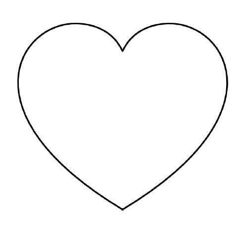 Heart-shaped clipart open heart #5