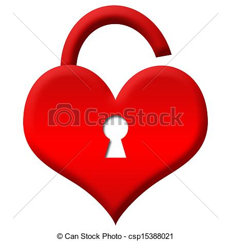 Heart-shaped clipart padlock Shape Images Clipart safeguard%20clipart Free