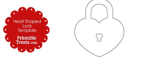 Heart-shaped clipart padlock Lock Template Lock com Shaped