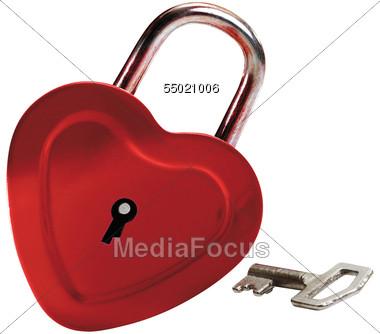 Heart-shaped clipart padlock & Heart Photo Clipart Stock