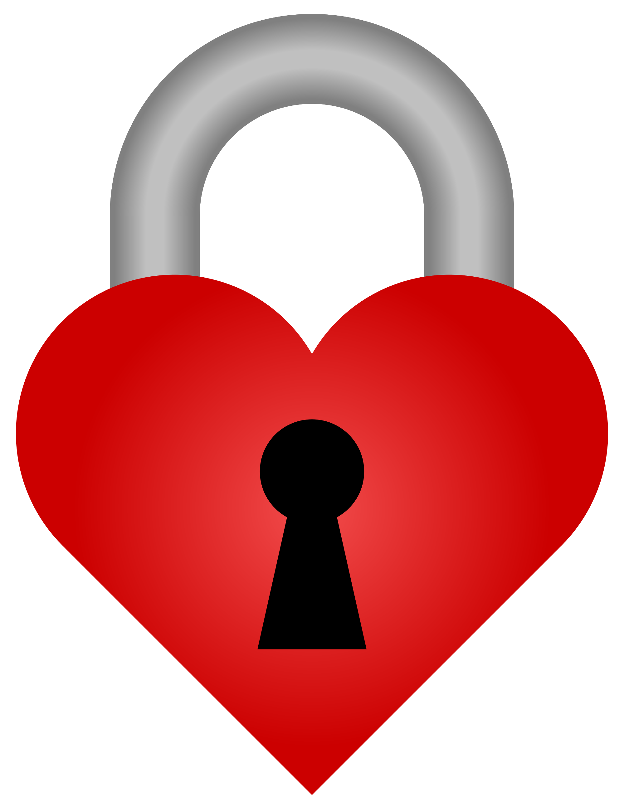 Heart-shaped clipart padlock Svg Open Wikimedia File:Heart Commons