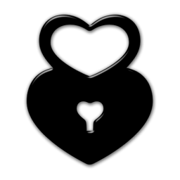 Heart-shaped clipart padlock Etc Padlock » unlock »