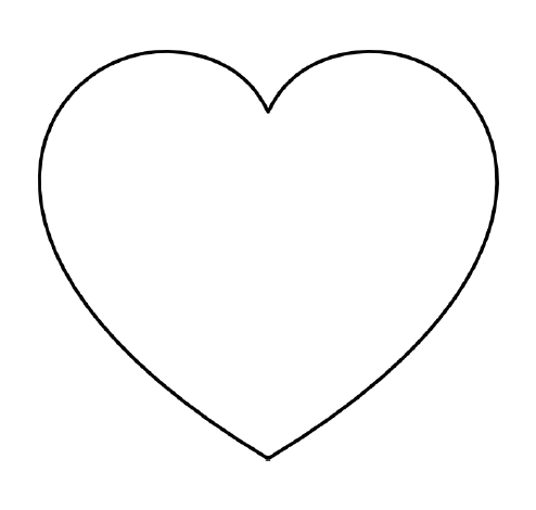 Heart-shaped clipart perfect #2