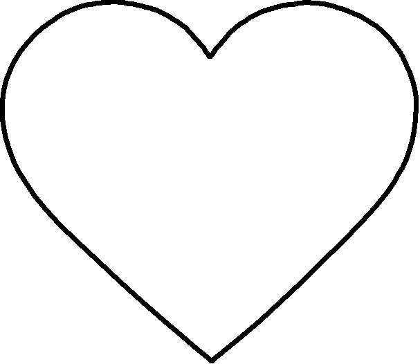Heart-shaped clipart perfect #1