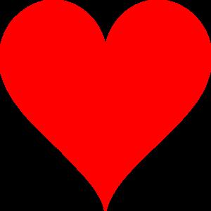 Heart-shaped clipart pink Art at Heart  royalty