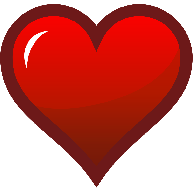 Heart-shaped clipart plain Download Heart Of Icon Art