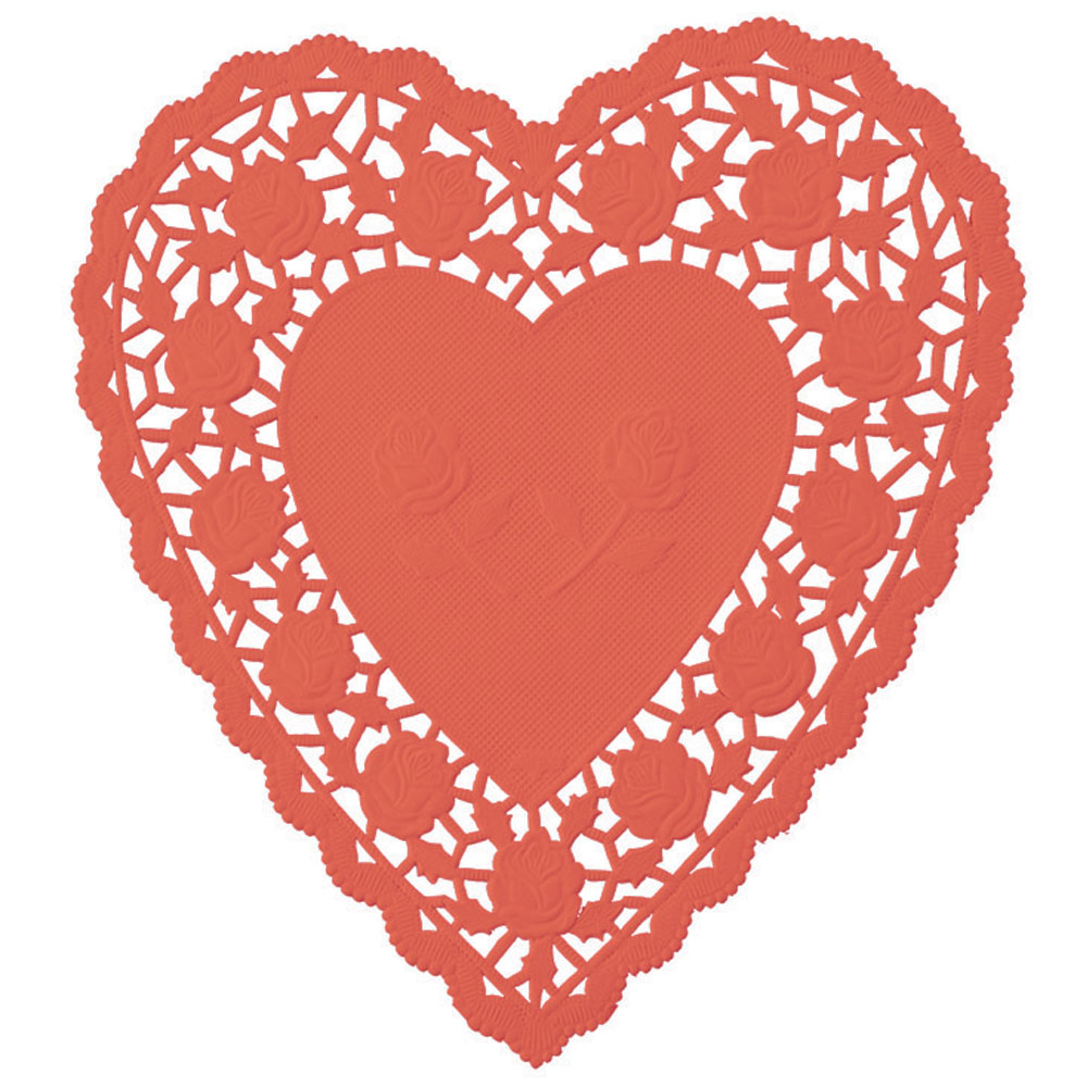 Square clipart doily Shape Art – Heart Art