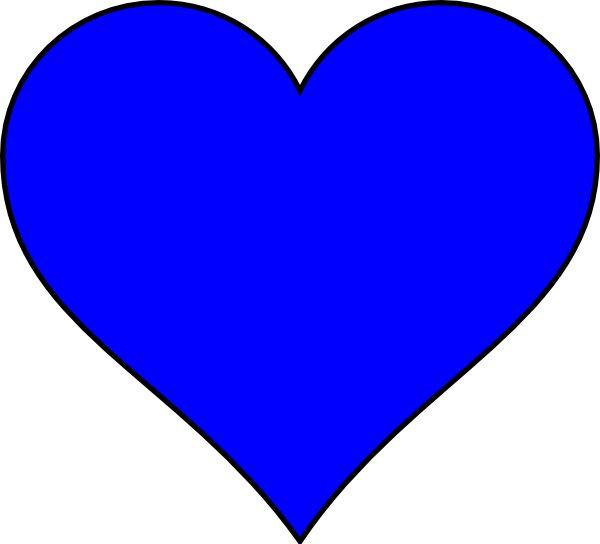Heart-shaped clipart printable #9