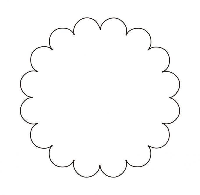 Petal clipart flower shape  Medium 18 Shape Clipartfest