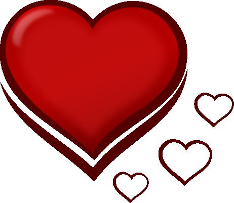 Heart-shaped clipart red heart Heart%20shape%20clip%20art Clipart Clipart Shape Panda