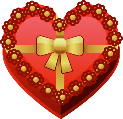 Heart-shaped clipart red heart  Png Red Shape Heart