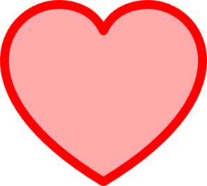 Heart-shaped clipart red heart Art Red  com Clip