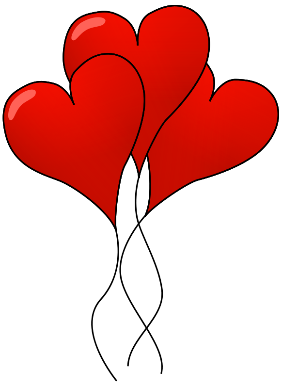Heart-shaped clipart red heart  red Illustration heart Photo
