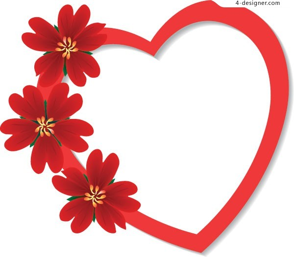 Heart-shaped clipart simple #11