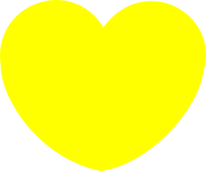 Heart-shaped clipart simple #1