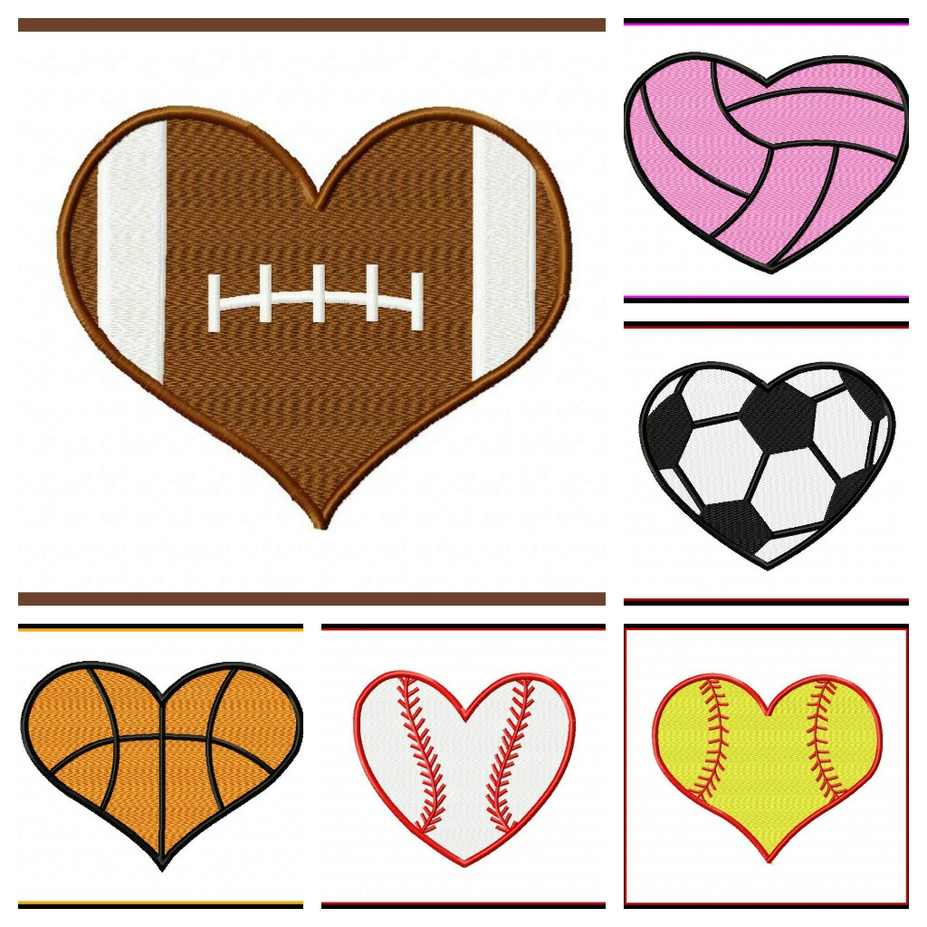 Heart-shaped clipart small #14