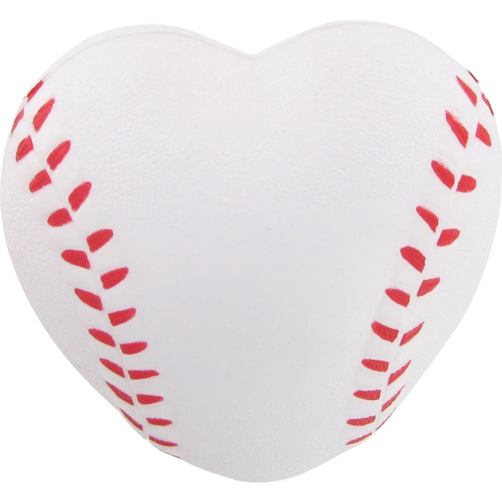Heart-shaped clipart softball Heart with $0 Stress Baseball