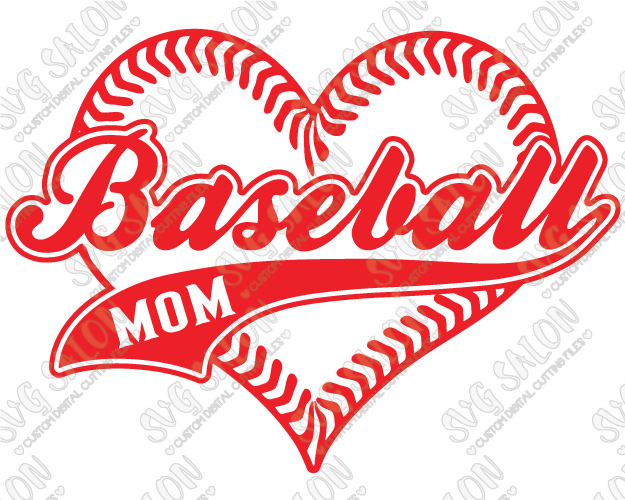 Heart-shaped clipart softball In Shaped Iron Shirt Laces
