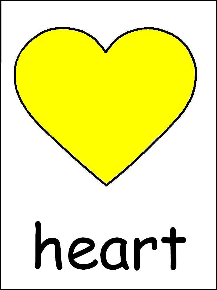 Heart-shaped clipart star shape #7