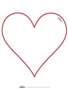 Heart-shaped clipart star shape #6