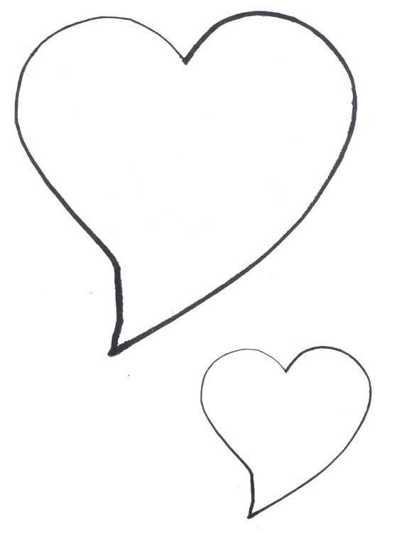 Heart-shaped clipart star shape #8