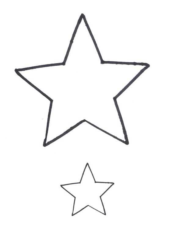 Heart-shaped clipart star shape #9