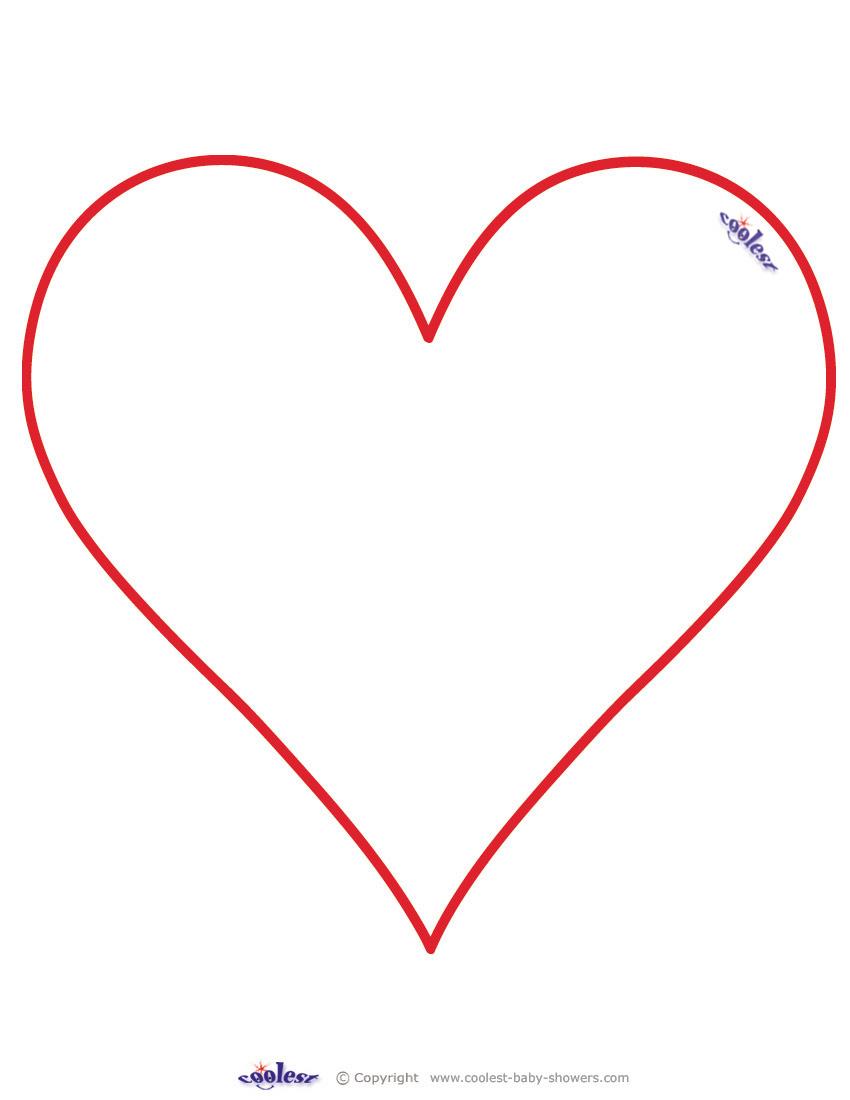 Heart-shaped clipart star shape #2