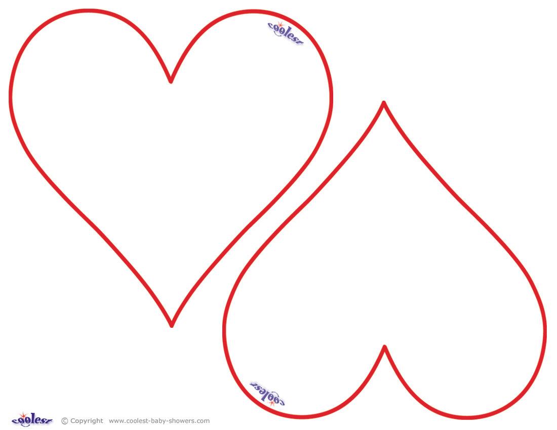 Heart-shaped clipart star shape #1