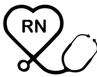 Heart-shaped clipart stethescope #5