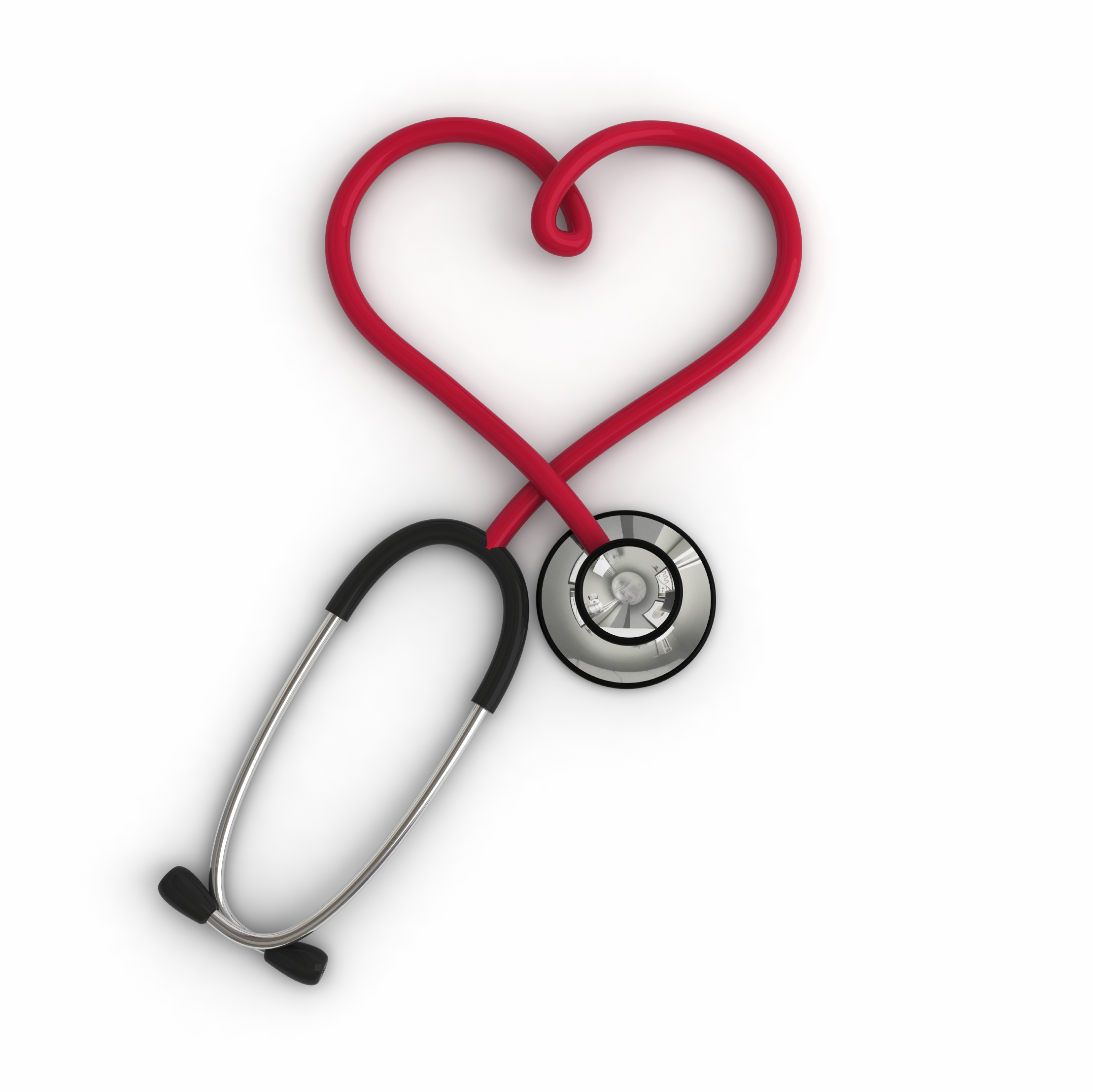 Heart-shaped clipart stethescope #6