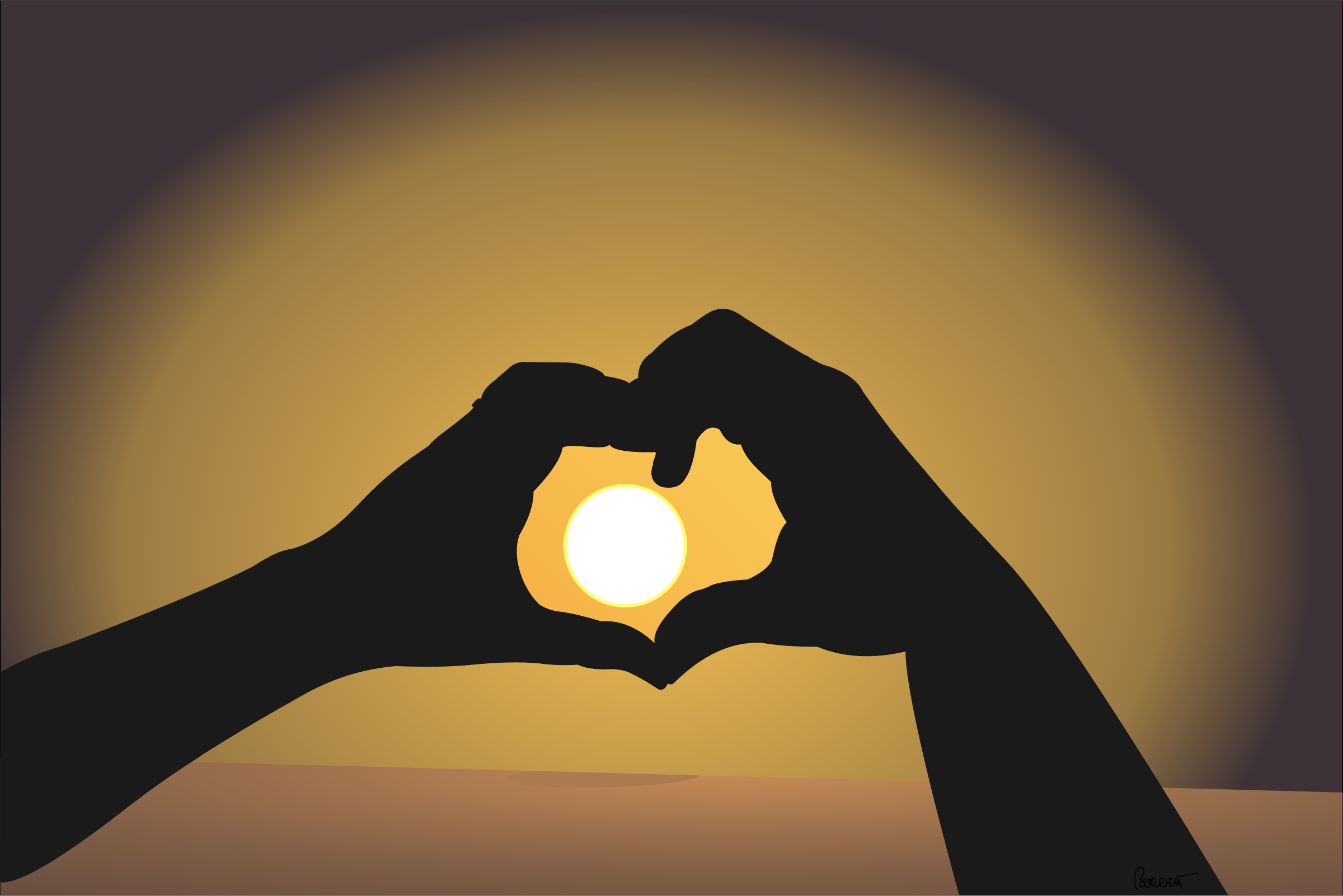 Heart-shaped clipart sun The Shaped Heart in Clipart