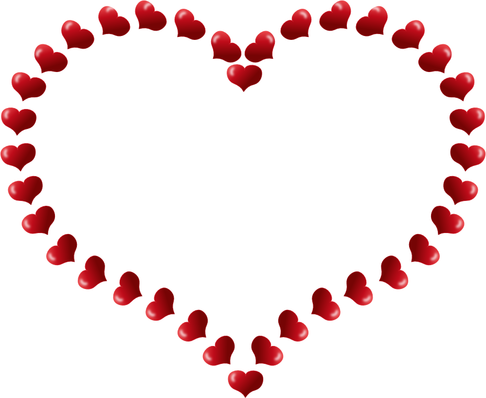 Heart-shaped clipart svg #3