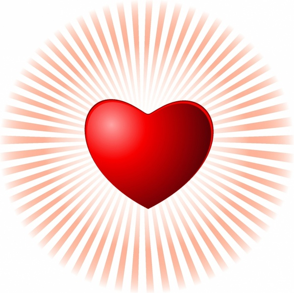 Heart-shaped clipart svg #2