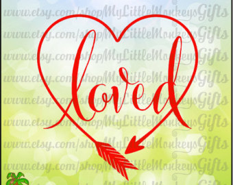 Heart-shaped clipart svg #4