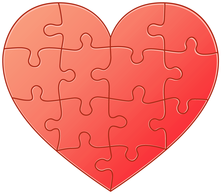 Heart-shaped clipart transparent High Clipart Heart Quality PNG