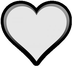 Heart-shaped clipart transparent Clip Heart Shape Clipart Download