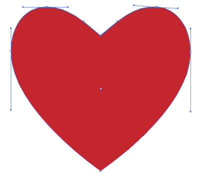 Heart-shaped clipart vector art  Illustrator A Download Shape