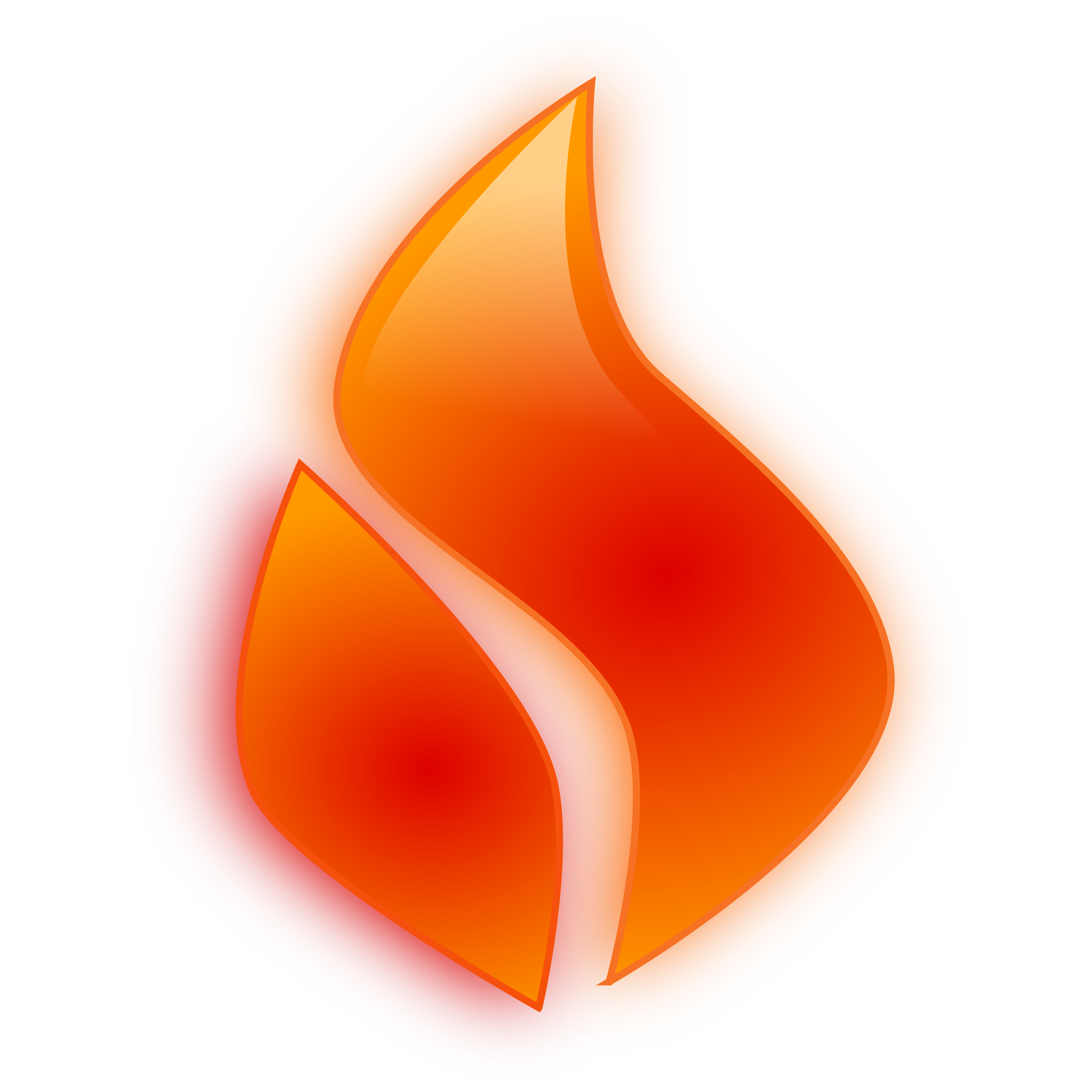Flames clipart heat Clip Flame Glossy Clipart Clipartwork