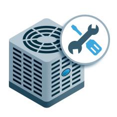 Heat clipart air conditioner repair Conditioning Air Repair AC Hvac