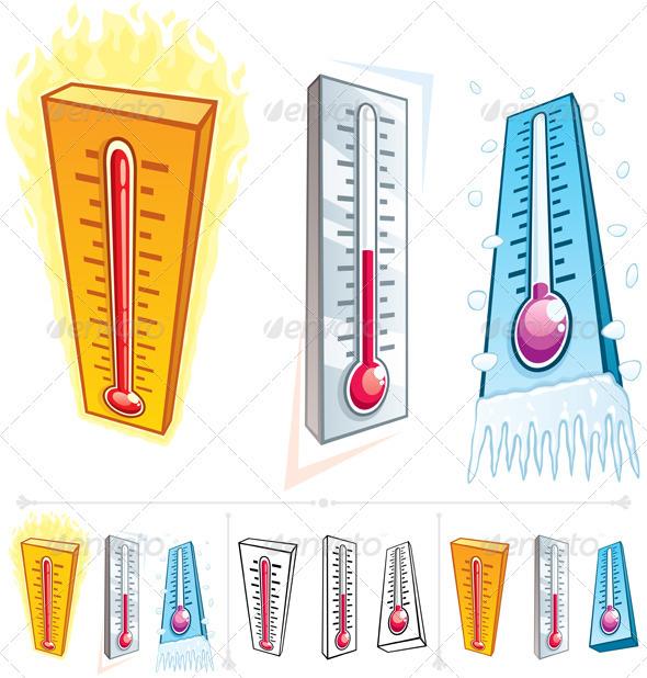 Heat clipart boiling point Black art celsius burning point