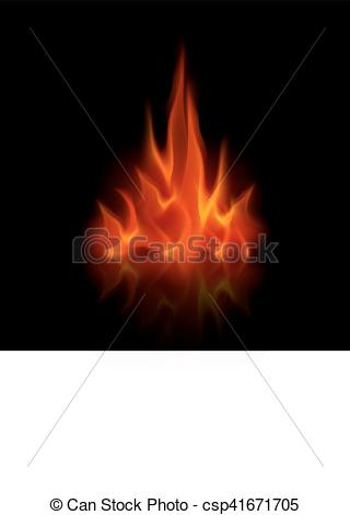 Heat clipart bonfire Isolated Flame Bonfire Red