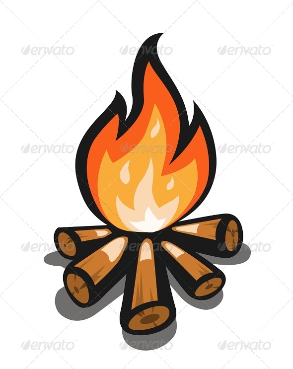 Wilderness clipart fire pit DOWNLOAD psd) ai Graphics
