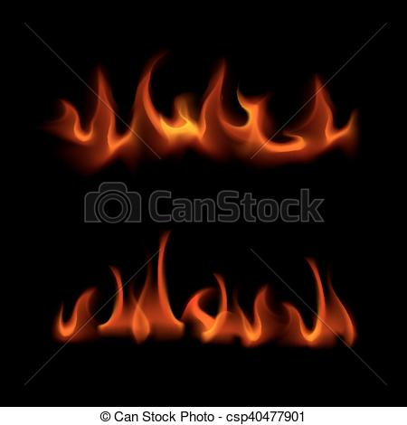 Heat clipart bonfire Fire of Red  Flame
