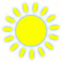 Bright clipart sun heat Heat centers Media opens cooling