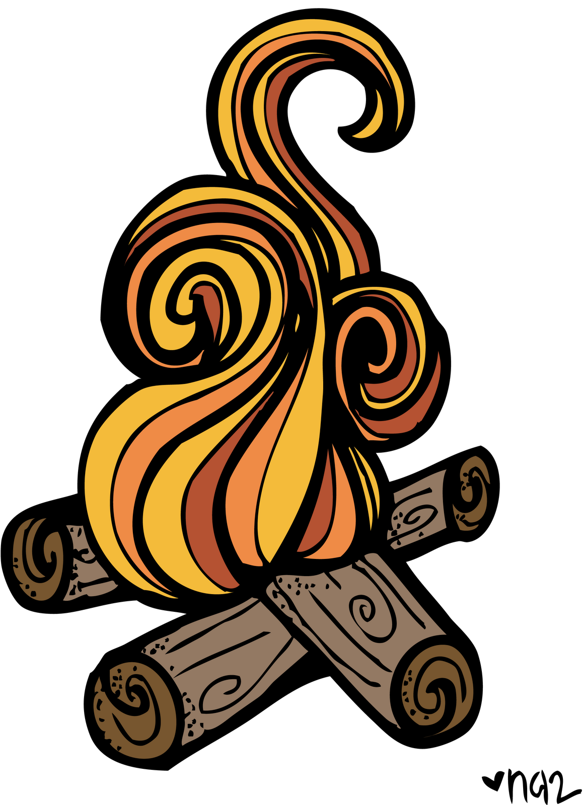 Heat clipart campfire Clipart Clipart Tent And Clipart