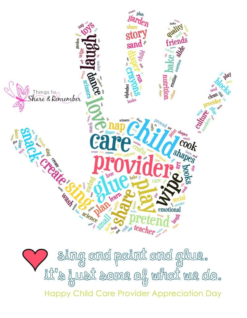 Heat clipart child care Provider Printable Care Day ideas