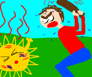 Heat clipart drawing Heat the (drawing by the