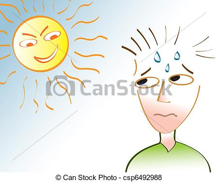 Heat clipart drawing Heat of sun Wave A